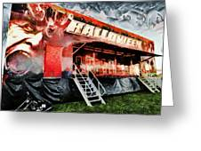 The Halloween Ride Greeting Card