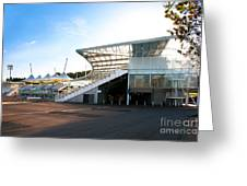 The Hampshire County Cricket Club Pavilion Greeting Card