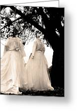 The Hanging Brides  Greeting Card