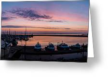 The Harbour Lights Greeting Card