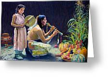 The Harvest Song Greeting Card