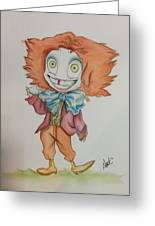The Hatter Is Mad Greeting Card
