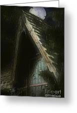 The Haunted Gable Greeting Card
