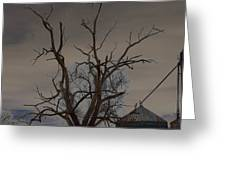 The Haunting Tree Greeting Card