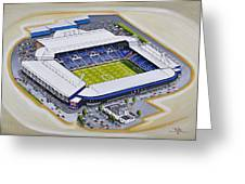 The Hawthorns - West Bromwich Albion Fc Greeting Card