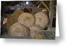 The Hay Barn Greeting Card