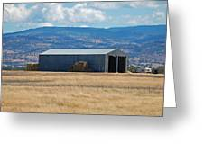The Hay Shed Greeting Card
