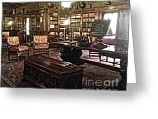 The Hearst Castle In San Simeon Greeting Card