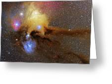 The Heart Of Scorpius Antares Region Greeting Card