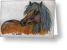 The Heavy Horse Greeting Card