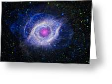 The Helix Nebula Greeting Card