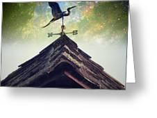 The Heron Vane Greeting Card