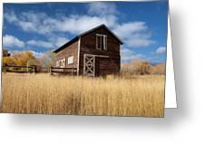 The High Grass Barn Greeting Card