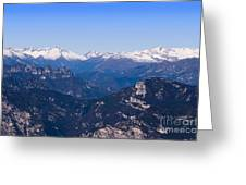 The High Mountain Country Greeting Card
