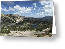 The High Uintas Greeting Card