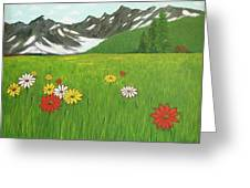 The Hills Are Alive With The Sound Of Music Greeting Card