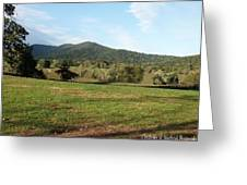 The Hills Near Marriot Ranch Greeting Card