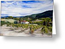 The Hills Of Tuscany Greeting Card