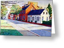 The Historic District Greeting Card