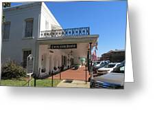 The Historic Excelsior Hotel Jefferson Texas Greeting Card