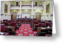 The Historic House Chamber Of Maryland Greeting Card
