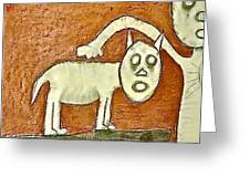 The Hollow Men 88 - Dog Greeting Card
