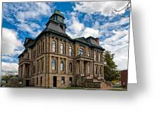 The Holmes County Courthouse Greeting Card