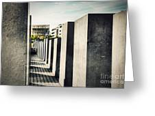 The Holocaust Memorial Berlin Germany Greeting Card