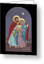 The Holy Family For The Holy Family Hospital Of Bethlehem Greeting Card