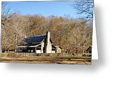The Homeplace - Main House Greeting Card