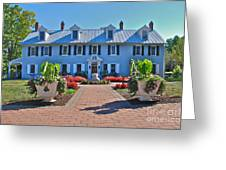 The Homestead Birthplace Of Milton Hershey Greeting Card