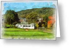 The Homestead Country Club Greeting Card