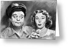 The Honeymooners Greeting Card