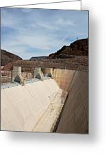 The Hoover Dam Greeting Card