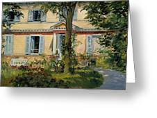 The House At Rueil Greeting Card