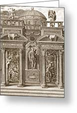 The House Of Sleep, 1731 Greeting Card