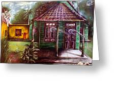 The House Of Spirits Greeting Card