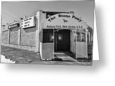 The House That Bruce Built - The Stone Pony Greeting Card