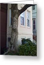 The Human Tree Greeting Card