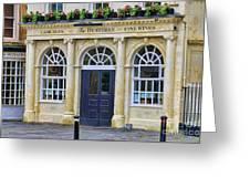 The Huntsman Pub In Bath 8456 Greeting Card