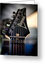The Ibanez Guitar Greeting Card by David Patterson