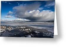 The Iceman Cometh Greeting Card