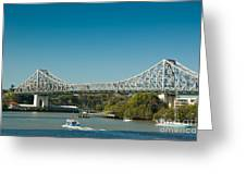 The Icon Of Brisbane - Story Bridge Greeting Card