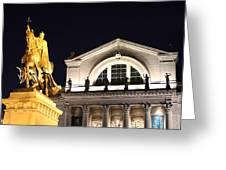 The Illumination Of Saint Louis Ix Greeting Card