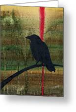 The Impossibility Of Crows Greeting Card