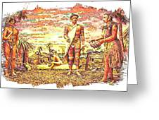 The Indian Tribe Greeting Card