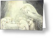 The Infant Jesus Saying His Prayers Greeting Card