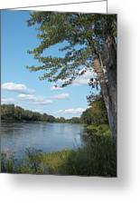 The Intervale On The Piscataquis Greeting Card