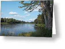 The Intervale On The Piscataquis River Greeting Card