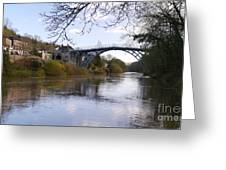 The Iron Bridge 2 Greeting Card
